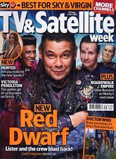 TV & SATELLITE WEEK 29 SEPT 2012 RED DWARF COVER DOCTOR WHO .NOT RADIO TIMES DVD