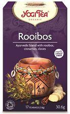 Yogi Tea Rooibos African especias - 17 Bolsas