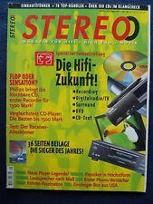 9/97 STEREO. Sony CDP XA 20es, ONKYO DX 7511, THIEL CS 1.5, Thorens TD 2001, Wadia 85