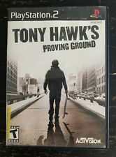 Tony Hawk's Proving Ground (Sony PlayStation 2, 2007) No Manual