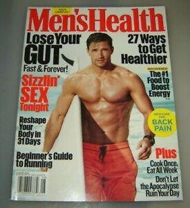 Men's Health Magazine August 2016 Lose your gut