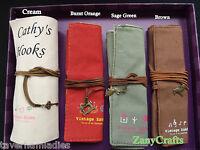 Personalised Crochet Hook Case Roll Bag Organiser Gift Crochet Queen