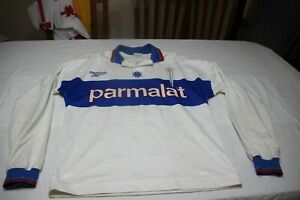 T-Shirt Official Vintage College Catholic Reebok T/XL Parmalat No 5 Pizarro