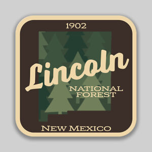 Lincoln National Forest Decal Sticker Explore Wanderlust Camping Hiking