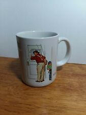 Norman Rockwell Museum Collection 1987 Closed For Business Mug Excellent Cond
