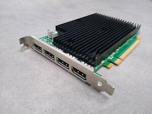 NVIDIA Quadro NVS 450 512MB GDDR3 PCIe Quad DisplayPort - Runs 4 Monitors/Screen