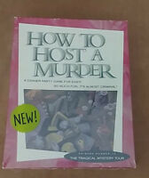 NEW Factory Sealed How to Host a Murder The Tragical Mystery Tour
