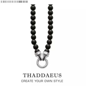 Beads Necklace Obsidian,2017 Brand New  Strand Fashion Jewelry Europe Style Gift