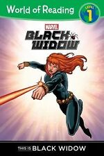 World of Reading: Black Widow This Is Black Widow by Clarissa S. Wong (2015,.
