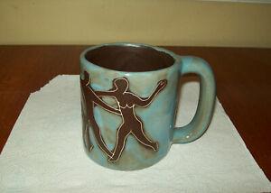 Mara Mexico Pottery Mug - Dancing Figures