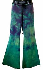 SIZE. XL (20-24/26)! LOVERSBAIT FUNKY FLARES. OZ MADE! 70's, TIE DYED, YOGA