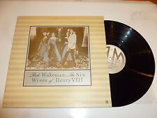 RICK WAKEMAN - The Six Wives Of Henry VIII - 1973 6-track Vinyl LP