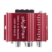 RCA 2CH Salut-Fi stereo Amplificateur Booster President MP3 Pour DVD de voi E4W3