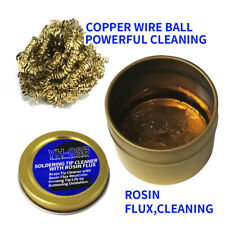 Soldering Flux Paste Solder Welding Rosin Grease Cleaning Ball For Electronics