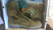 REDBACK TERRA COMBAT BOOTS SIZE 320/111 (LENGTH, WIDTH) APROX 13-131/2