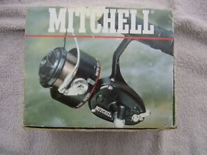 Mitchell 300 Reel - + spare spool -V.G.condition- boxed with instructions.