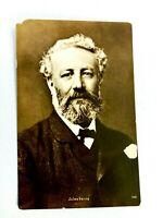 Vintage Postcard Jules Verne Portrait French Novelist, Poet, and Playwright