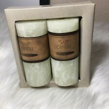 Hand Made Candles For Success, For Your Business Or Home. Box With Two Candles