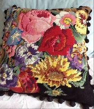 Ehrman Designer KAFFE FASSETT Tapestry needlepoint Chart FLOWER TRELLIS cushion