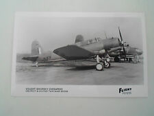RP Postcard - Vought Sikorsky Chesapeke - One Pratt & Whitney Twin Wasp Engine