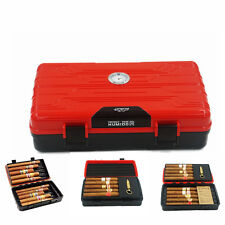 Multifunction Travel Cigar Humidor With Copper Punch 2 Humidifier  Box Cohiba