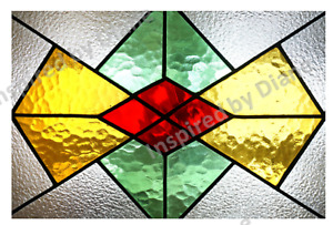 Mirror Glass Transparent Sticker, Stained Glass Effect Decal Stickers   633