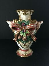 Fitz & Floyd Florentine Christmas Centerpiece Vase - No Box