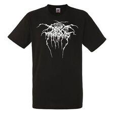 Darkthrone Logo Black Herren T-ahirt Men's Rock Band Cool Tee