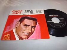 GEORGE JONES-WEARING MY HEART AWAY/THINGS HAVE GONE 2 PIECES-MU1067 NM/VG+ 45+PS