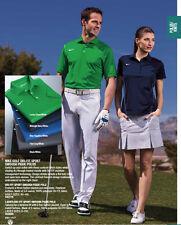 Women's Midnight Navy Blue Dri Fit Golf Polo Shirt 452885, Medium, M, Md, Nwt