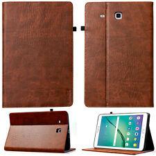 "Leder smart Cover f. Samsung Galaxy Tab E 9.6"" T560 T561 Schutzhülle Case Tasche"