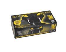 Gants Nitrile Noir BlackMamba - Taille L - boite de 100