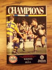 WIDNES v HULL  22/04/90  EXCELLENT