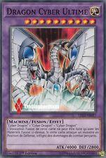 ♦Yu-Gi-Oh!♦ Dragon Cyber Ultime (Fusion - End) : LED3-FR017 -VF/Commune-