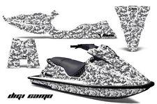 AMR Racing Jet Ski Graphics Wrap Sea Doo XP Decal Kit 1994-1996 DIGICAMO WHITE
