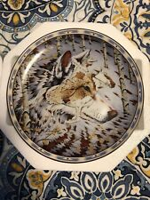 """""""Spirit Of The Wolf"""" Kindred Spirits by Diana Casey Bradford Exchange Plate #2"""
