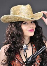 Adulto Ranger Western Paglia Cappello Da Cowboy
