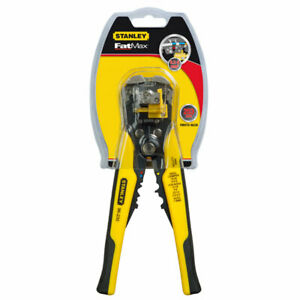ALICATE PELACABLES AUTOMATICO PROFESIONAL STANLEY FATMAX FMHT0-96230 NUEVO
