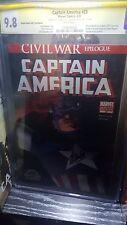 Captain America #25 CGC 9.8 SS Wizard World Signed Stan Lee Joe Simon Not CBCS