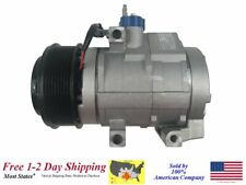 New A/C AC Compressor for 2011-2016 Ford F-250 Super Duty 6.7L Diesel