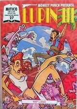 STAR COMICS MITICO N.27 MONKEY PUNCH PRESENTA LUPIN III 1996