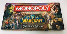 Monopoly Board Game World of Warcraft Collector's Edition Condition Excellent