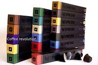 New 30 50 80 100 lowest price popular orignal Nespresso coffee Pods capsules