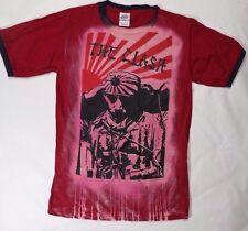 The Clash band rare Kamikazi ***SMALL*** screen printed t-shirt bleached