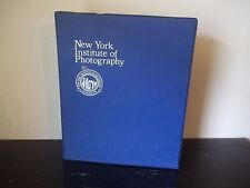 NEW YORK INSTITUTE OF PHOTOGRAPHY 15 AUDIO CASSETTE TAPES IN CASE LECTURE SERIES