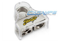 NEW STINGER POSITIVE PLATINUM CAR BATTERY TERMINAL 0 | 4 | 8 GAUGE AWG OUTPUTS