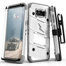 Samsung Galaxy S8 Plus Case Protective Cover Military Grade DropTested Belt Clip
