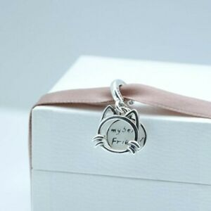 Authentic Pandora My Pet Cat Sterling Silver 925 Dangle Charm 799329C01