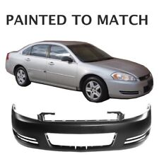 Painted to Match - Fits 2010 2011 2012 2013 Chevy Impala Front Bumper w/out Fogs