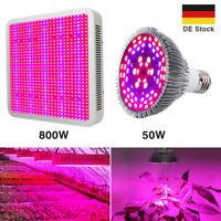LED Grow Lampe Vollspektrum 800W 150W Pflanze Lampe Hydro Blumen Gemüse Light
